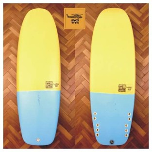 5'4 mini simmons - the snack model - mota aircraft surfboards