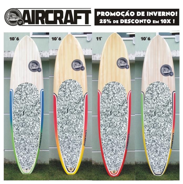 PROMOÇÃO DE INVERNO SUPS AIRCRAFT Marcos Mota Sup promoção Stand Up Paddle Rio de Janeiro